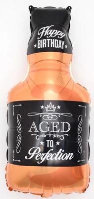 Бутылка виски  воздух 100 р., гелий 185 р.