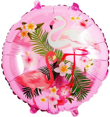 Круг розовый Фламинго воздух 40 р., гелий 90 р.