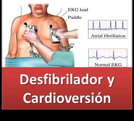 DESFIBRILACION Y CARDICOVERSION