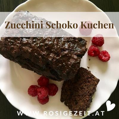 Zucchini Schoko Kuchen