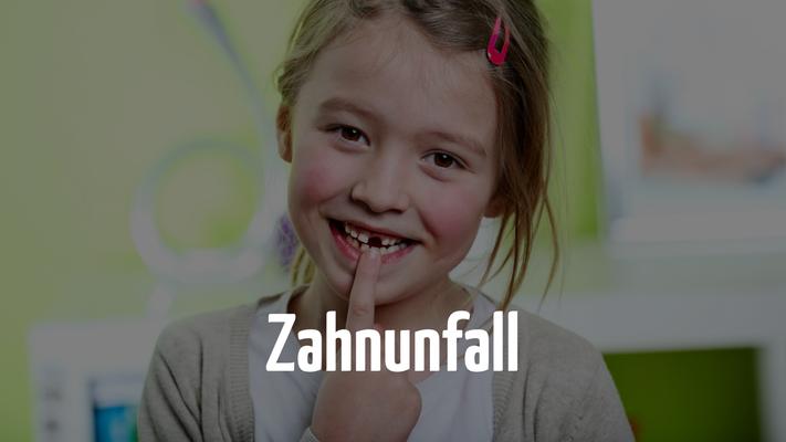 Zahnunfall - Notfalltermin für Kinder beim Zahnarzt in Bern