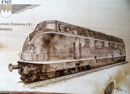 Diesellokomotive V 200-001