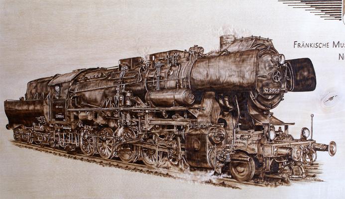 Dampflokomotive Baureihe 52-8195