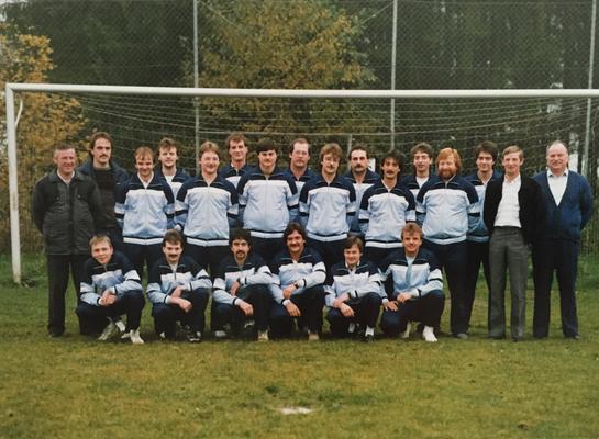 Thekenmannschaft  Ammeldingen von 1978 bis 1990 (Foto Mitte der 1980er)