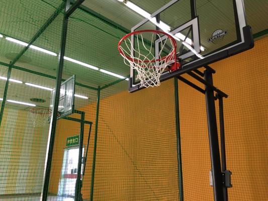 【フリースローコート】 バスケットのゴールを2台ご用意。発送次第で、遊び方は無限大!?