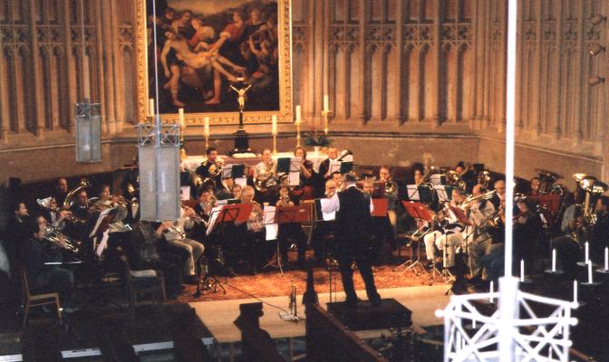 """2004 - """"Bläsermusik im Kerzenschein"""" in Demmin"""
