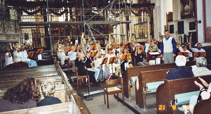 2005 in der Nikolaikirche in Stralsund