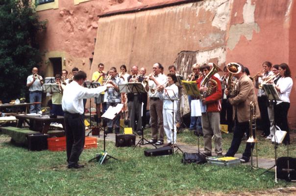 2003 - Gemeinschaftstag in der Wasserburg Turow