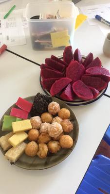 Snacks beim Seminar
