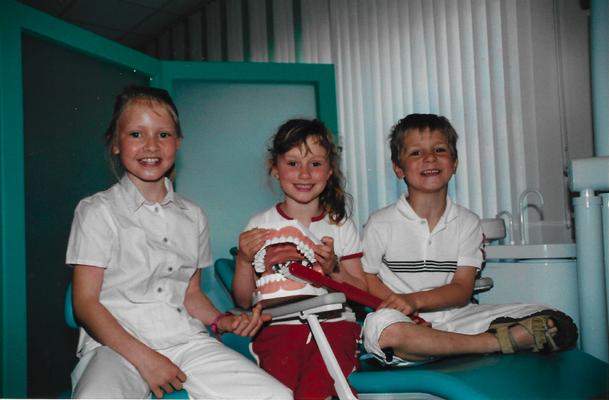 Kinder in der Zahnarztpraxis