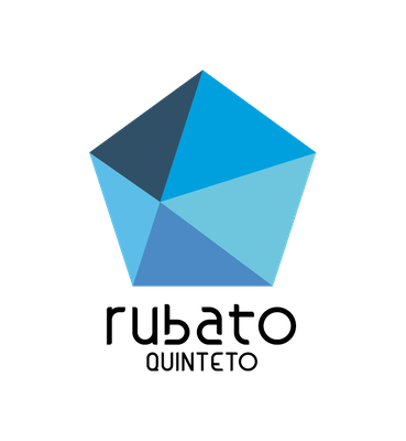"""logotipo para o quinteto de vento """"Rubato"""""""