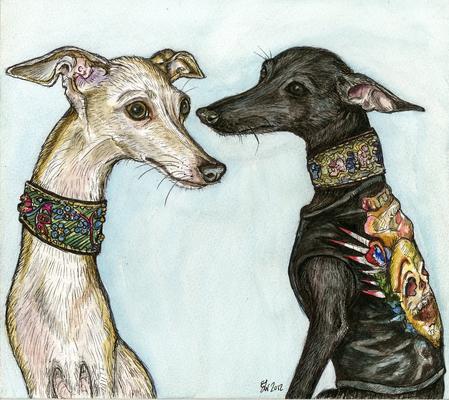 ...von Elle Wilson gemalt.