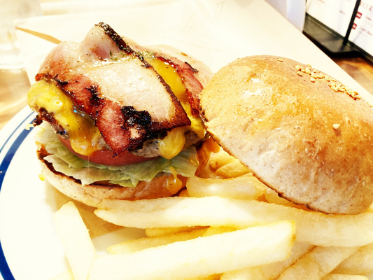 ベーコンチーズburger