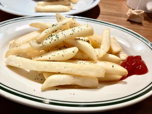 20代 ポテト ケチャップ 塩