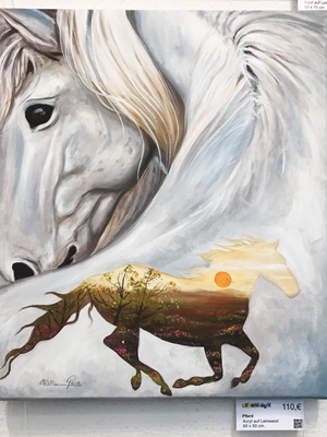 Ferd, Acryl auf Leinwand. 60 x 50 cm.  110.00€