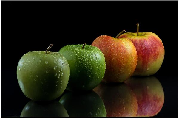 4 pommes