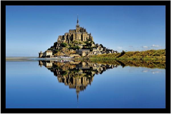 Mont Saint-Michel Reflet
