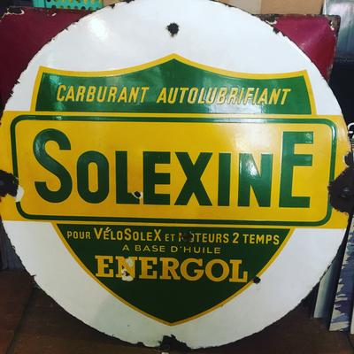 Solexine sign