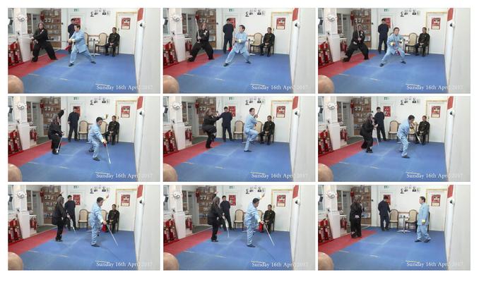 Schwertunterricht von GM Chen Zhenglei
