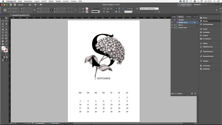 Zusammenfügung (Adobe InDesign)