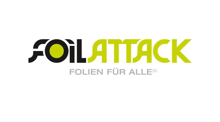 Wortmarke Foilattack by Heckdesign
