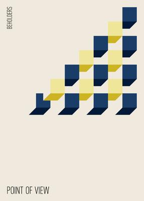 Poster Point of view by Thomas Heck, Grafikdesigner, Karlsruhe