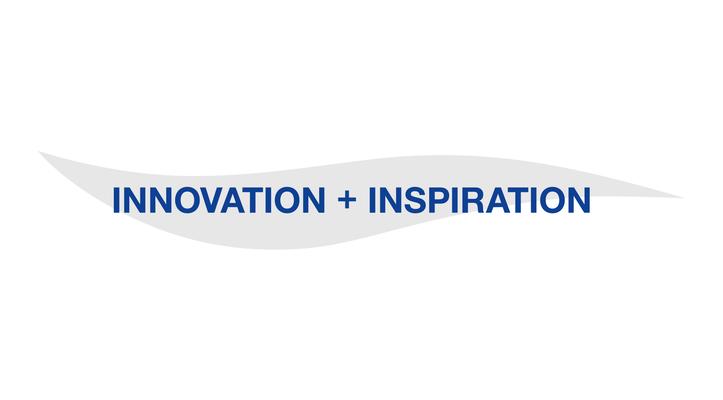 Schriftzug BLANCO Innovation + Inspiration by Heckdesign
