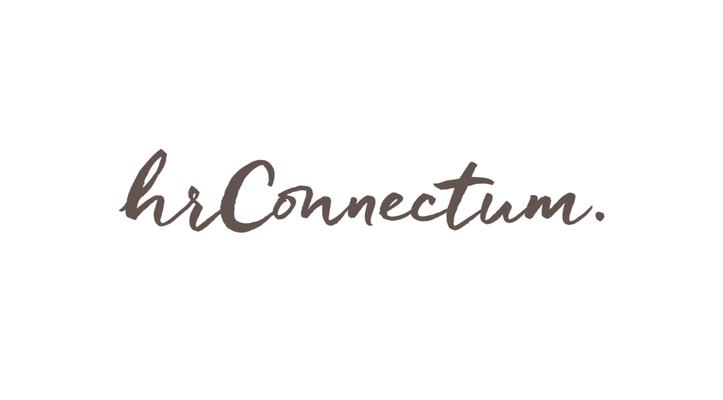 Wortmarke hrConnectum by Heckdesign