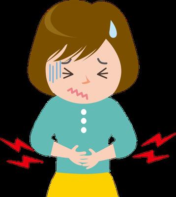 胃腸の不調、生理痛、便秘、過敏性大腸炎