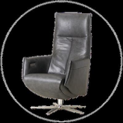 Relaxfauteuil (sta-op stoel) TW-084