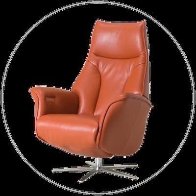 Relaxfauteuil (sta-op stoel) TW-045