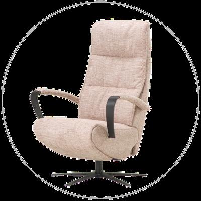 Relaxfauteuil (sta-op stoel) TW-190