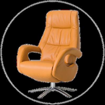 Relaxfauteuil (sta-op stoel) TW-037