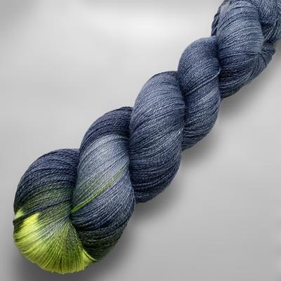 Wetterleuchten, Lacegarn, Tuchwolle, Tuch-Wolle, lace yarn, heat lightning