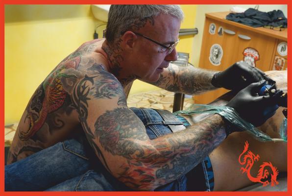 Red Dragon Tattoo - tatuatore artistico Bolzano - Rosario Vicenzi