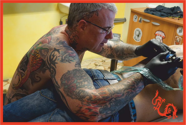 Red Dragon Tattoo - studio tatuaggi a Cles - Trento - Trentino