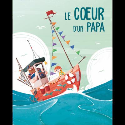 """<FONT size=""""5pt"""">Le Coeur d'un papa - <B>14,90 €</B> </FONT>"""