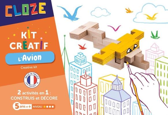 "<FONT size=""5pt"">Kit créatif l'Avion - <B>9,50 €</B> </FONT>"