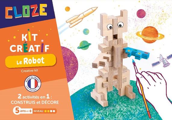 "<FONT size=""5pt"">Kit créatif Robot - <B>13,50 €</B> </FONT>"