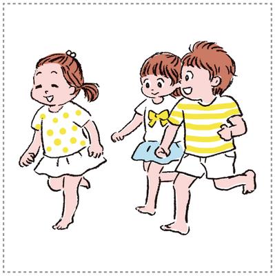イラスト 子ども・保育