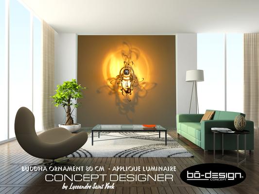 décoration interieur bouddha