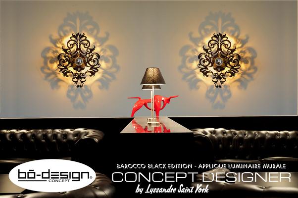 luminaire baroque design