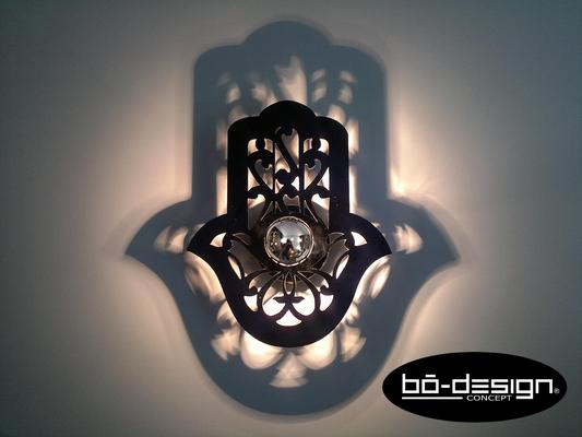 décoration main de fatima luminaire oriental