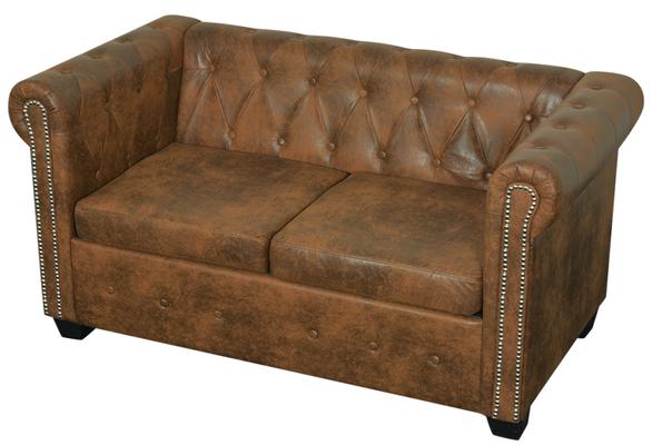 divano chersterfield +2 posti +used look +sandro shop +vendita +arredo +vintage +online