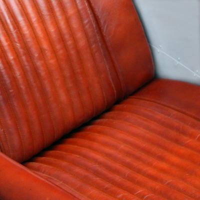 poltrona aviator +alluminio +vintage +industrial +sandroshop +pelle