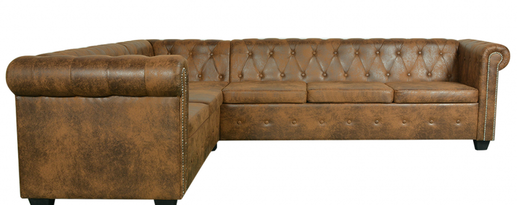 divano chesterfield +6 posti +vintage +used look +sandro shop +vendita online +genova +spedizione