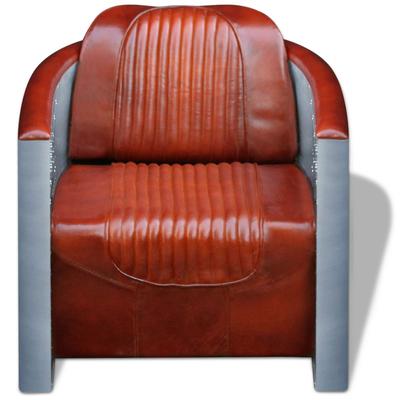 poltrona pelle +aviator +alluminio +rivetti +arredo industrial +sandro shop +vintage