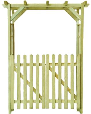 cancello #traliccio #pergola #arco #grigliato #legno #impregnato #giardino #autoclave #sandro shop