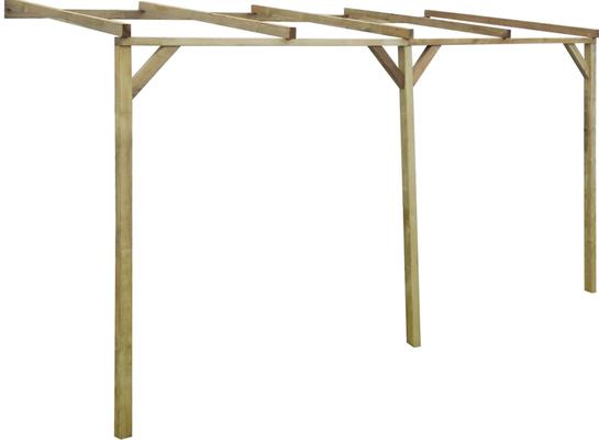 pergola +legno +impregnato +sandro +shop +online