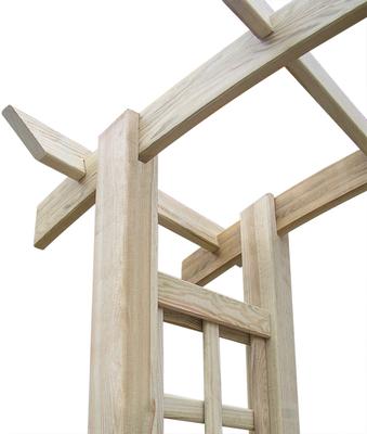 #traliccio #pergola #arco #grigliato #legno #impregnato #giardino #autoclave #sandro shop